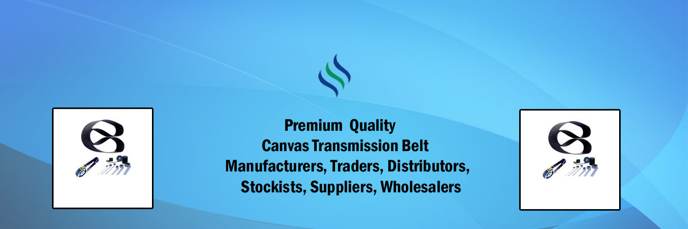 Canvas Transmission Belt